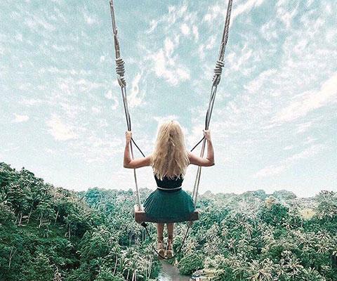 バリ島の大自然の景色をお楽しみください