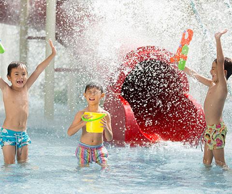 バリ動物園(バリズー) お子様に人気のミニアポリスジャングル
