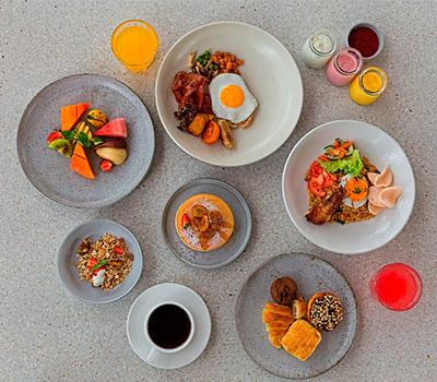 子供オランウータンと楽しむ朝食付き限定プラン 画像
