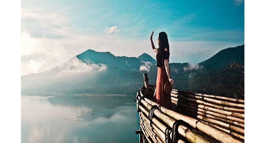 絶景を背景に写真撮影を楽しむことができます