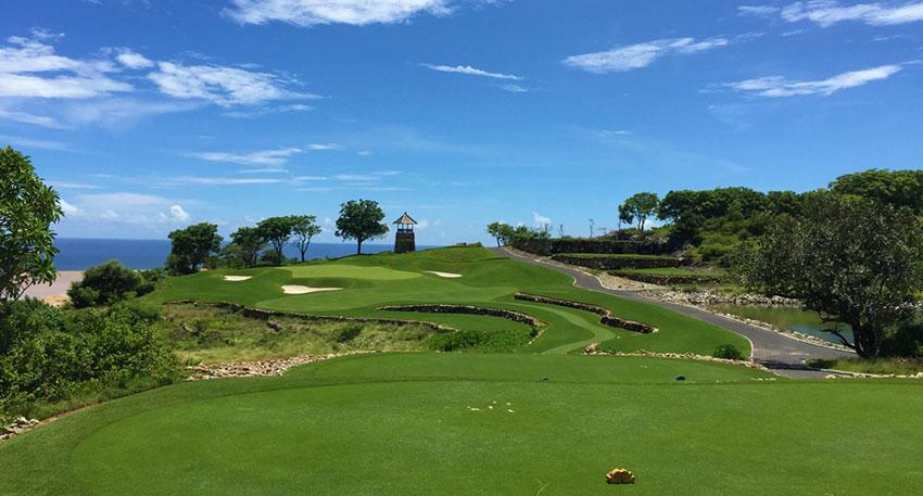 ブキットパンダワゴルフでゴルフを満喫