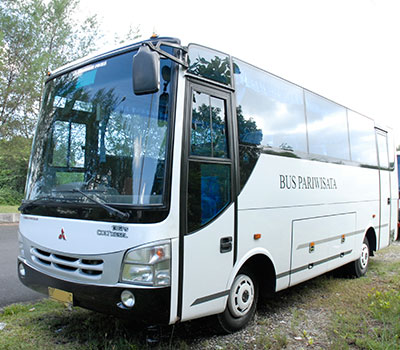 バリ島 中型バス 画像