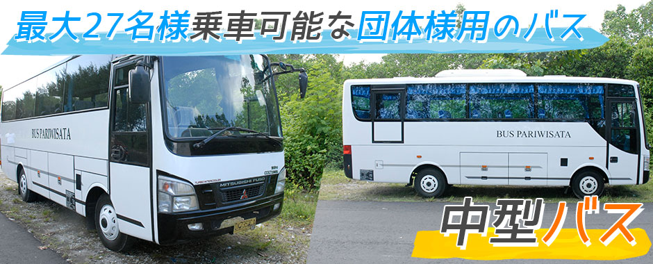 バリ島 中型バス