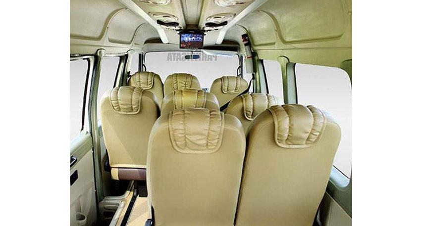 最大15名様まで乗車可能なミニバス