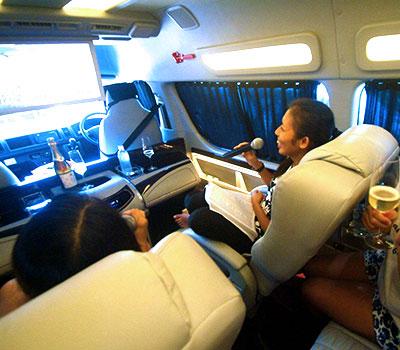 バリ島 ハイエース特別仕様車 画像