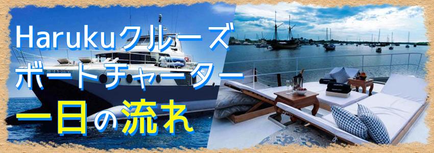 バリ島 Haruku クルーズ 一日の流れ