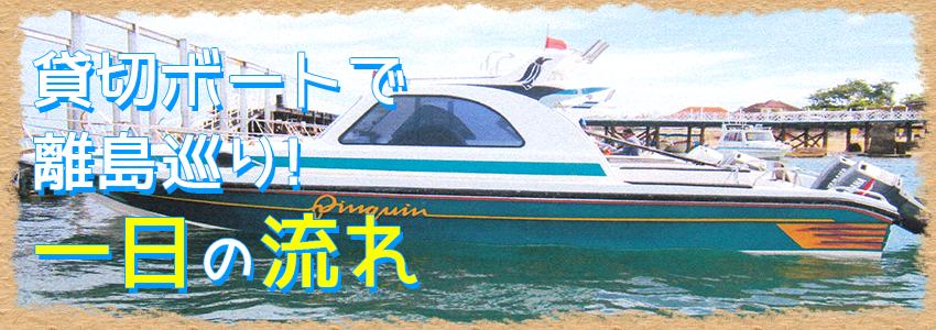 バリ島 3つの離島巡り レンボンガン島、ペニダ島、チェニガン島 一日の流れ