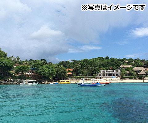 ダイビングポイントとしても人気のあるペニダ島