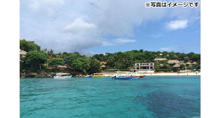 イビングポイントとしても人気のあるペニダ島