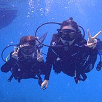バリ島 体験ダイブ