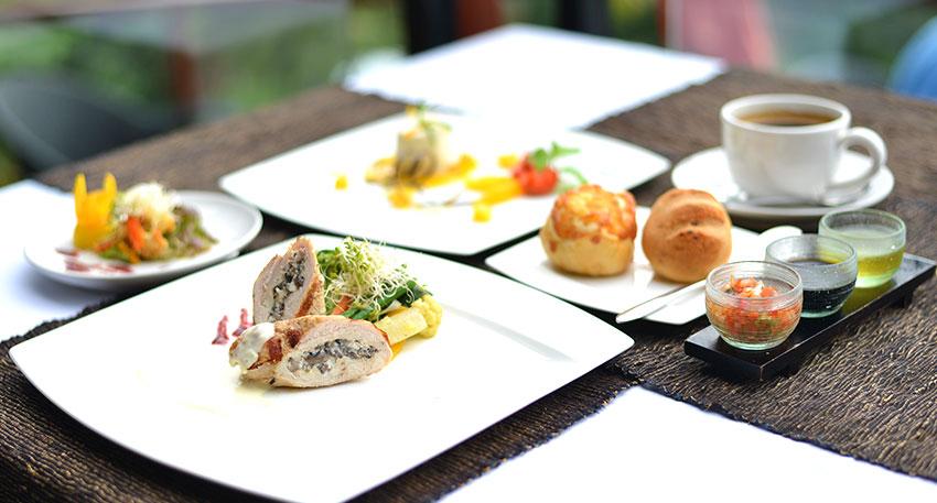 2種類から選べる豪華コース料理