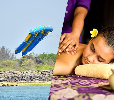 バリ島 マリンスポーツ乗り放題+ランチ食べ放題+スパ3時間 画像