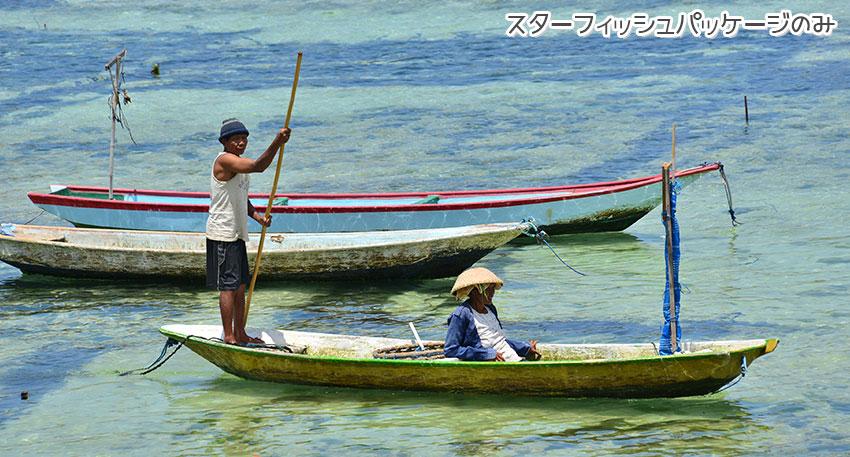バリ島とはまた違う雰囲気の島です