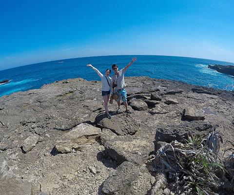 バリ島からも近い離島でシュノーケリングを楽しみます