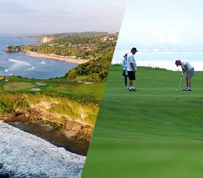 バリ島 ニュークタゴルフ 画像