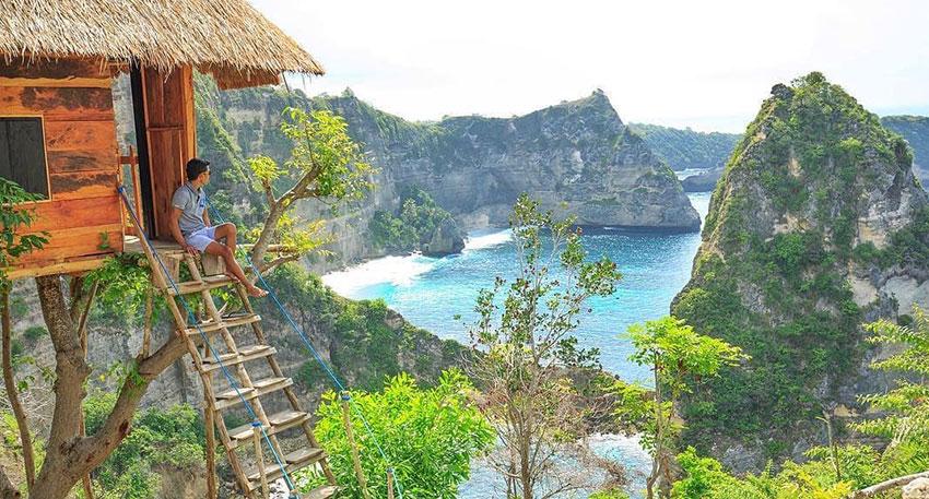観光地化されていない美しい自然の離島観光