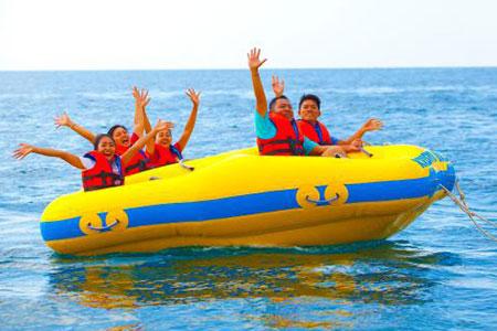 バリ島 ドーナツチューブ 画像