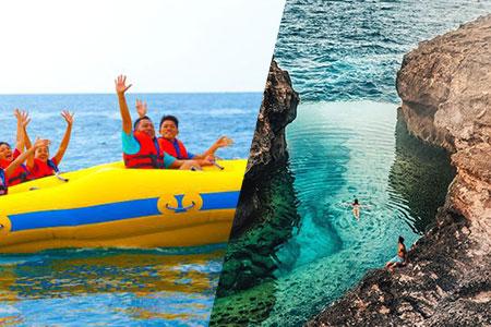 バリ島 アイランドツアー+ドーナツチューブ 画像