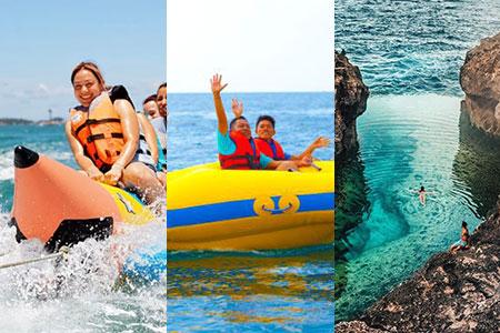 バリ島 アイランドツアー+バナナ+ドーナツ 画像