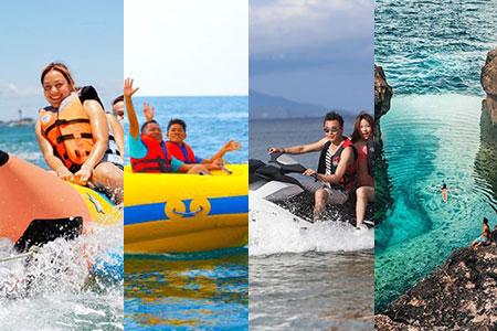 バリ島 アイランドツアー+バナナ+ドーナツ+ジェットスキー 画像