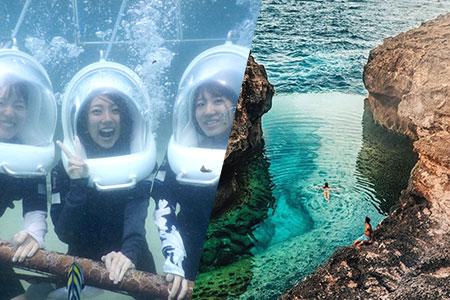 バリ島 アイランドツアー+シーウォーカー 画像