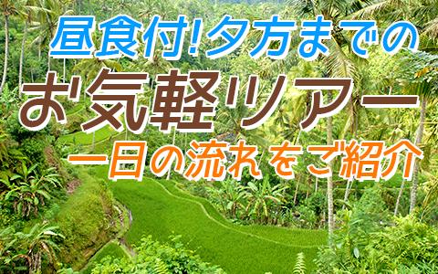 バリ島 バリの世界遺産 パクリサン河川とキンタマーニツアー 一日の流れ