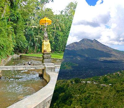 バリ島 バリの世界遺産 パクリサン河川とキンタマーニツアー 画像