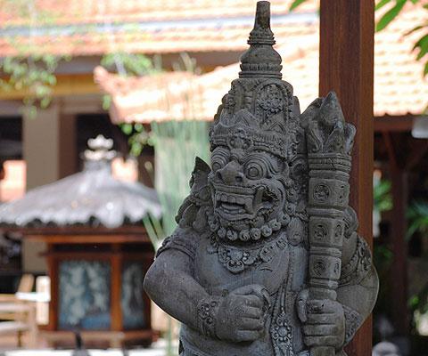 伝統的な文化を感じられるバリ島