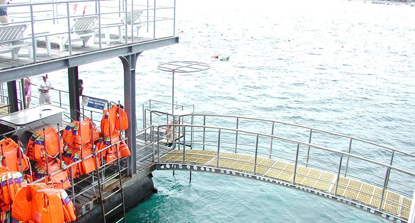 バリ島で二番目に大きいメガポントゥーンです