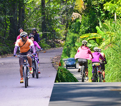 バリ島 ソベック サイクリング 画像