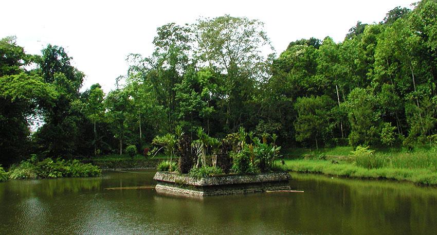 神聖で神秘的な雰囲気の寺院