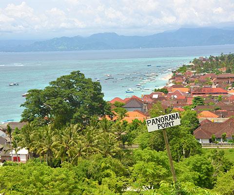 レンボンガン島の絶景ポイント