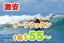 バリ島 観光激安サーフィン
