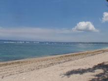 ビーチでセオリーレッスン